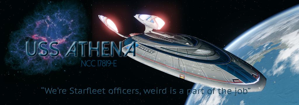 USS Athena Banner