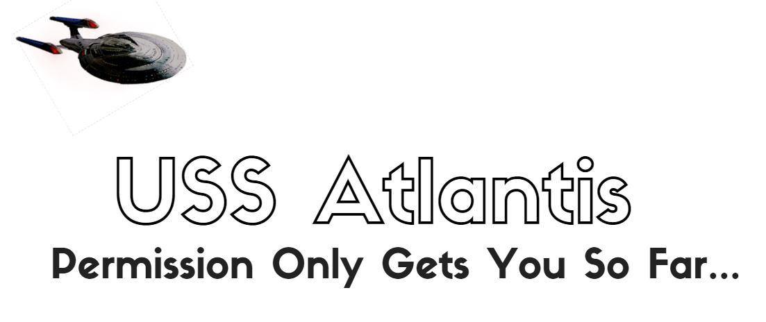 USS Atlantis Banner